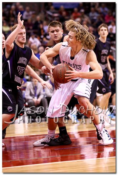 Lake City vs. Rocky Mountain - 2013 Idaho State Basketball Tournament