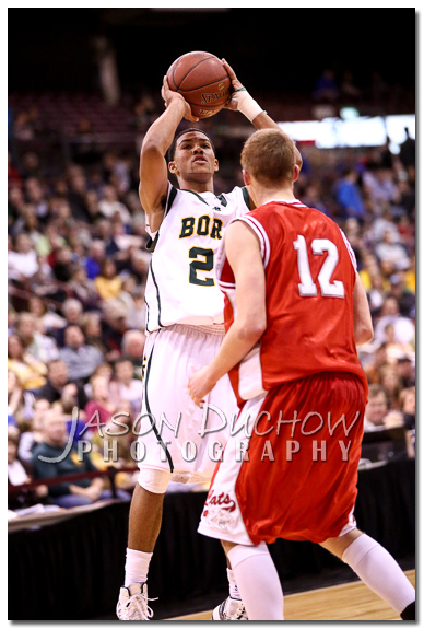 Borah vs. Madison - 2013 Idaho State Basketball Tournament