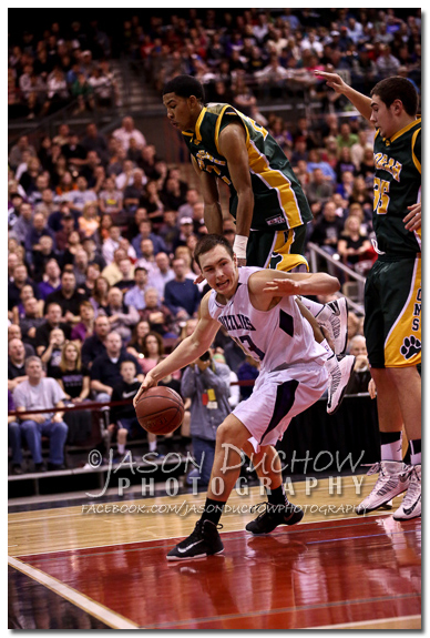 Borah vs. Rocky Mountain - 2013 Idaho State Basketball Tournament
