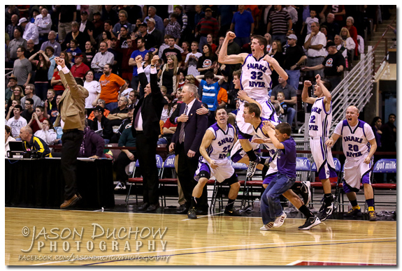 Snake River vs. Shelley - 2013 Idaho State Basketball Tournament