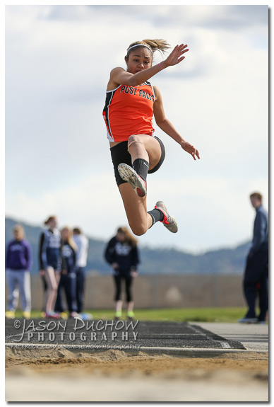 Post Falls High School Long Jumper