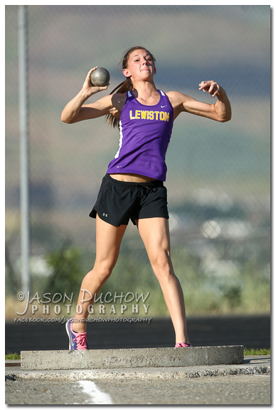Lewiston Shot Put