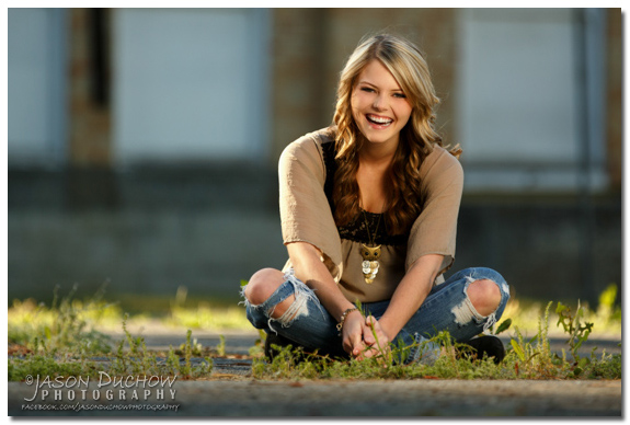 senior portrait in Rathdrum