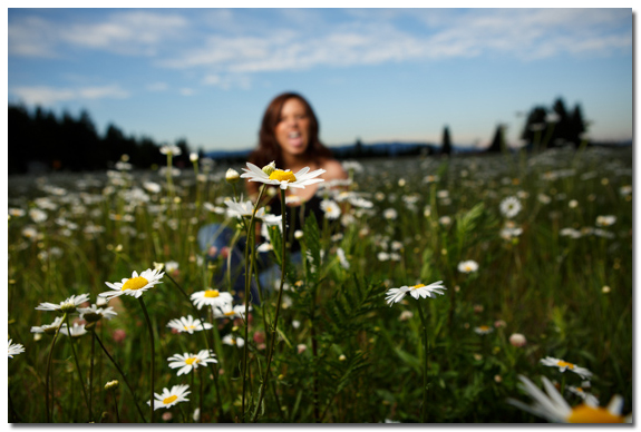outtake from Breanna's senior portraits in Sandpoint, Idaho