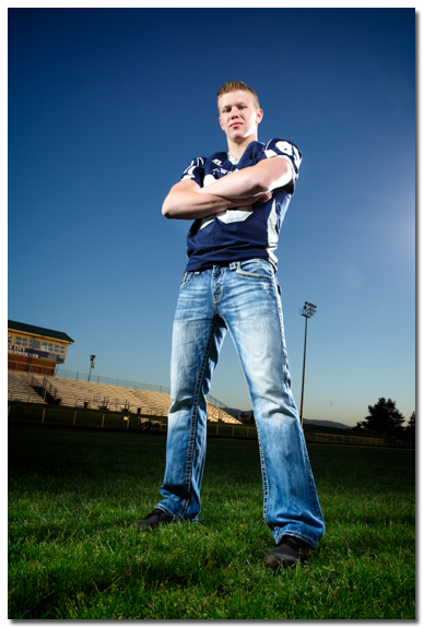 Lake City High School Football portrait