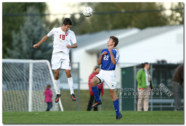 Varsity boys soccer between Sandpoint High School and Coeur d'Alene High School