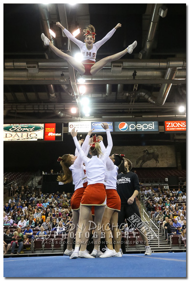 Idaho State cheer