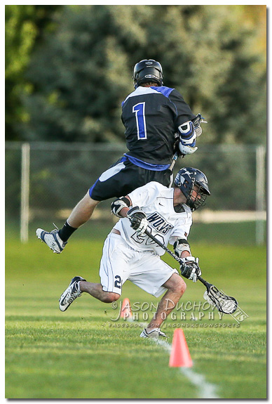 Lacrosse - Coeur d'Alene at Lake city 05-07-20156