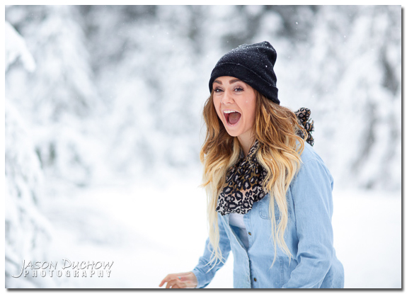 Winter Senior Portraits 016