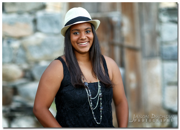 naturla light senior portrait